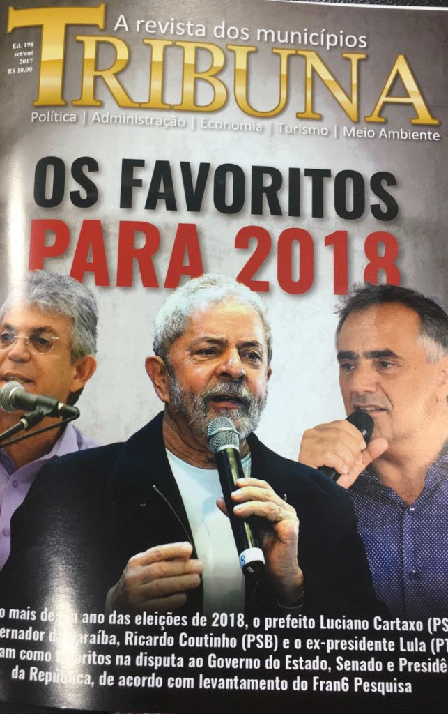 Capa da revista que traz as enquete 2017
