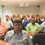 O evento aconteceu no mini auditorio da Asplan