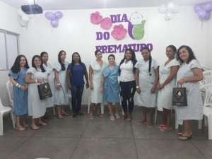As pacientes adoraram a inicitiva da Maternidade