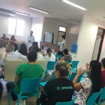 O workshop aconteceu no Hospital do Bem